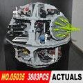 ЛЕПИН 05035 Star Wars Death Star 3804 шт. Строительный Блок Кирпичи Игрушки Совместимы с 10188