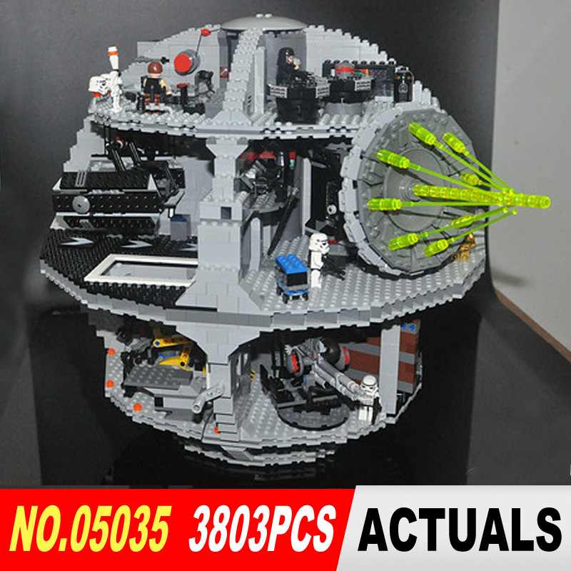 LEPIN 05035 Star Wars Death Star 3804pcs Building Block Bricks Toys Kits Compatible with 10188