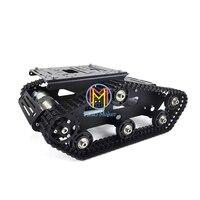 TR300P гусеничная машина металлический Танк шасси робот умный автомобиль DIY Танк модель электронный конкурс