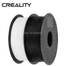 Ender marka PLA Filament próbki 2 sztuk 1 kg/rolka 1.75mm czarny + biały dwa kolor dla CREALITY 3D drukarki/Reprap/Makerbot