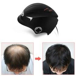 Gli uomini la crescita Dei Capelli Cap casco Laser ricrescita dei Capelli laser casco 64/128 strumento di trattamento di perdita Dei Capelli del laser crescita dei capelli veloce