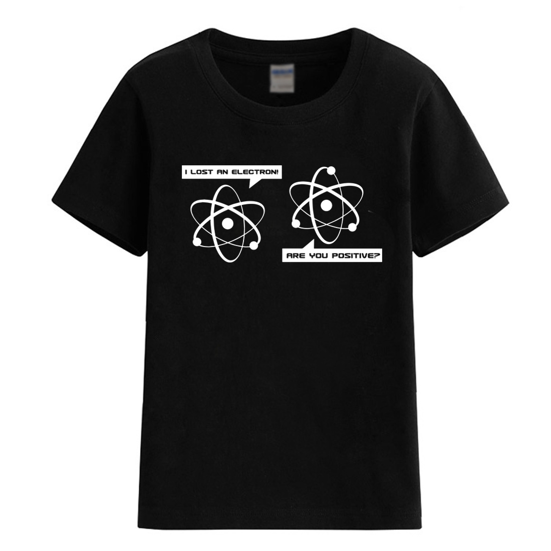 Summer 2018 I Lost an Electron Are You Positive T-shirt for children short sleeve child T-shirts for boys girls cotton t shirt смартфон fly fs523 cirrus 16 lte black