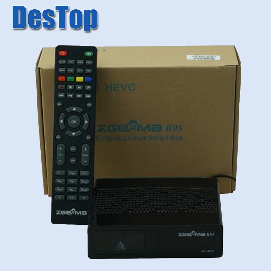 2pcs Lot 2018 Super Sale Zgemma H9s 4k Uhd Tv Box H 265
