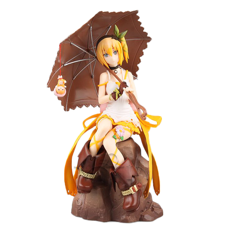Japanese Hot Anime Tales of Zestiria Edna 1/8 Scale 23cm/9inch Painted PVC Collectible Figure [sgdoll] anime tales of zestiria edna 1 8 scale painted pvc collectible figure no box 5900 l