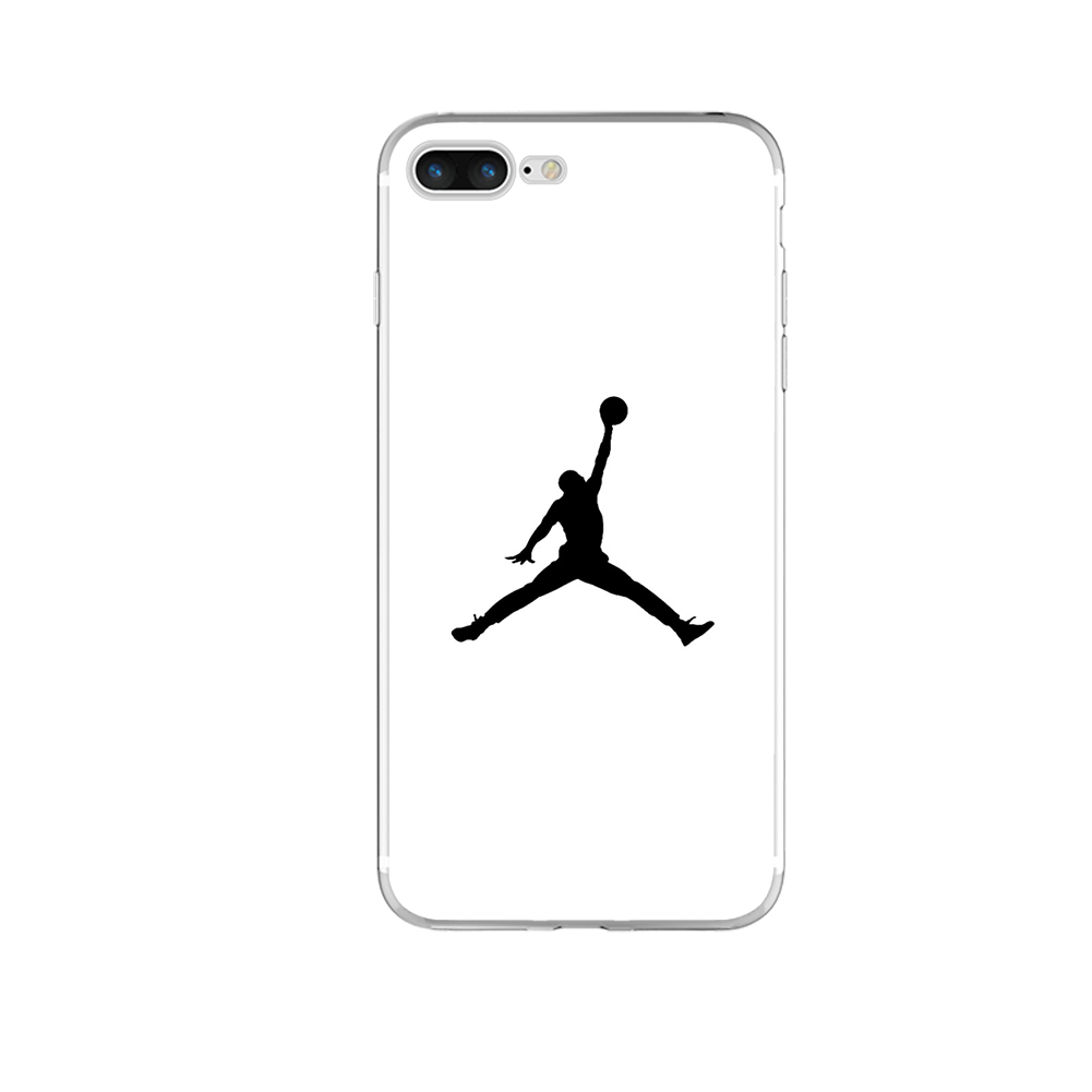 fashion flyman michael jordan silicone tpu for iphone x 8 7 6 6s plus 5 5s se 5c 4 4s case coque. Black Bedroom Furniture Sets. Home Design Ideas