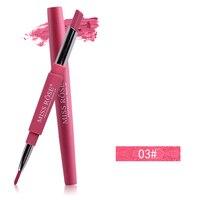 055pcs Matte Lipliner Pencil Waterproof Makeup Lips 05 2018 Matte Lipstick Lip Liner Pen Brand Lip Pencils Smooth Nude Cosmetics