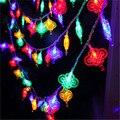 5 metro led string festival luz Nó Chinês À Prova D' Água ao ar livre 20 leds Festa de Natal Jardim Decoração iluminação Multicolor