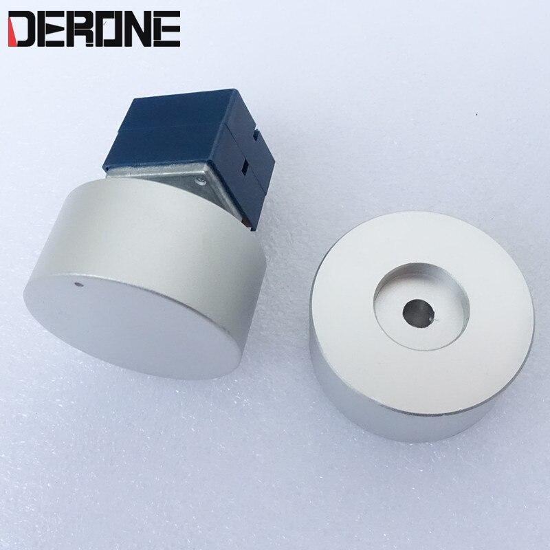 1 piece aluminum knob diameter 44MM high 22mm for amplifier volume control Potentiometer knob Professional audio accessories