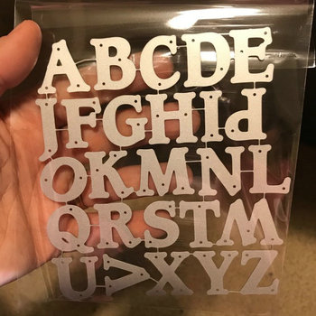 English Letters Dies scrapbooking New Arrival Metal Cutting 2020 Alinacrafts Design Craft Card