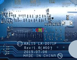 Image 5 - Dell vostro 3559 3459 011m2 0011m2 CN 0011M2 aal15 LA D071P w i5 6260U cpu 노트북 마더 보드 메인 보드 테스트