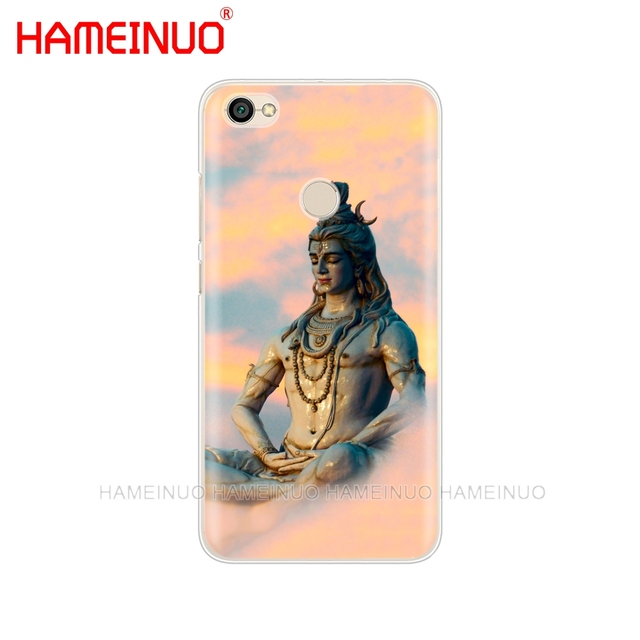 HAMEINUO Lord Shiva Hindu God Buddha India Mahakal phone Case for Xiaomi redmi 5 4 1 1s 2 3 3s pro PLUS redmi note 4 4X 4A 5A