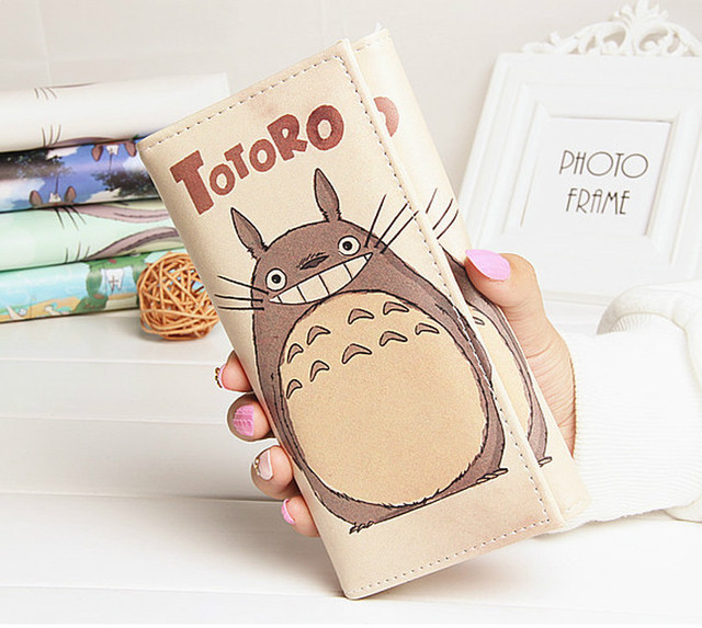 Studio Ghibli My Neighbor Totoro – Leather Simple Wallet (multiple colors available)