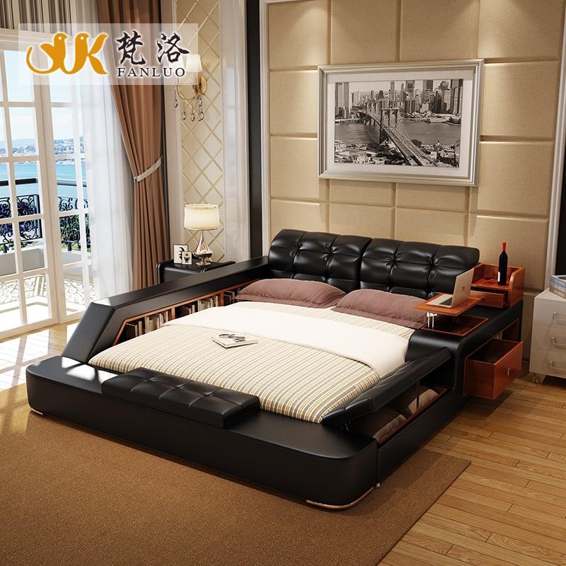 Popular king size bedroom furniture set buy cheap king for Order bedroom furniture