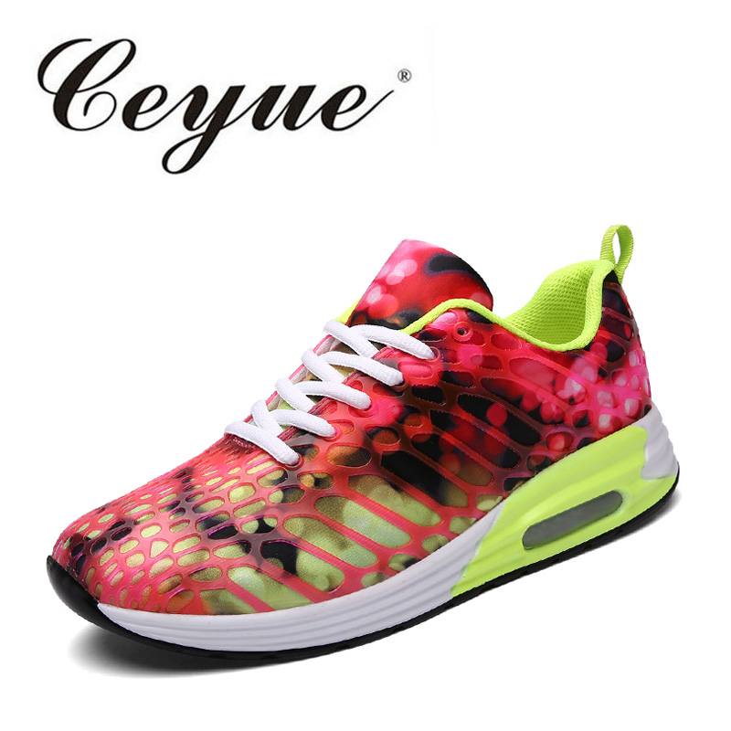 Ceyue Plus Size 35-42 Women Casual Shoes Woman Lightweight Walking Shoes Fashion Comfort Ladies Shoes Trainers Tenis Feminino ceyue fashion brand women shoes breathable air mesh trainers 2017 spring autumn casual shoes woman walking flats tenis feminino