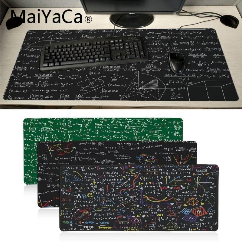 MaiYaCa Garçon Cadeau Pad Géométrique formule souris gamer jeu tapis Grand Gaming Mouse Pad Lockedge Tapis de Souris Clavier Pad