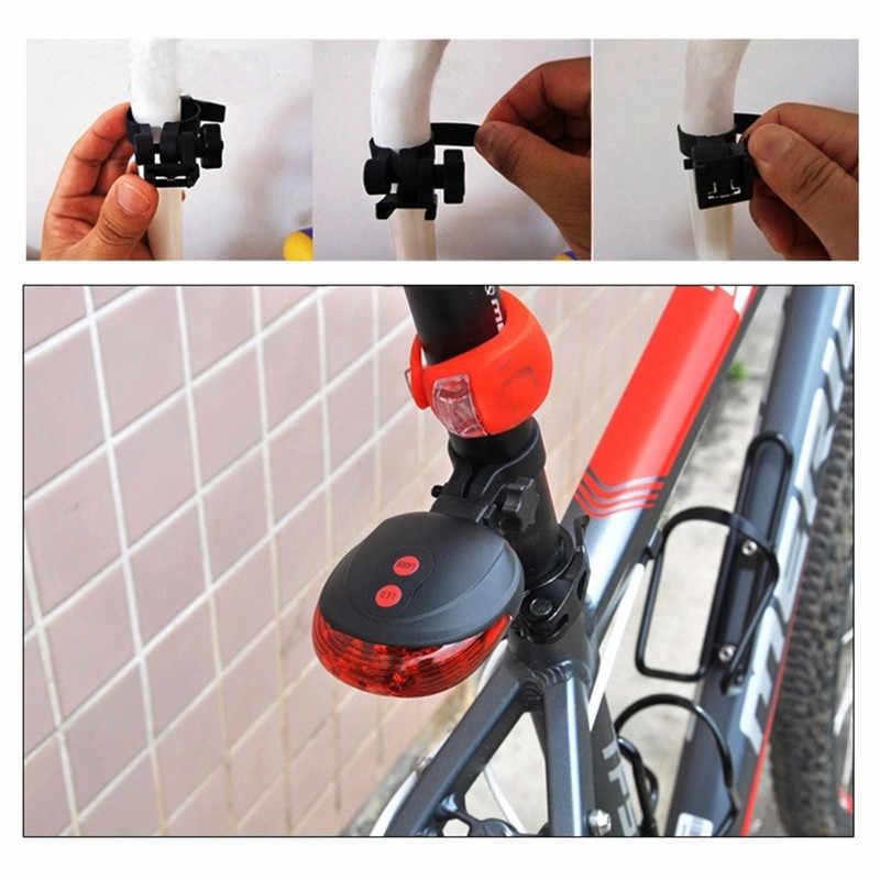 Accueil must vélo laser feu arrière 5 LED VTT laser sécurité avertissement lumière lampe à LED flamme ampoule LED lumières ampoules décoration