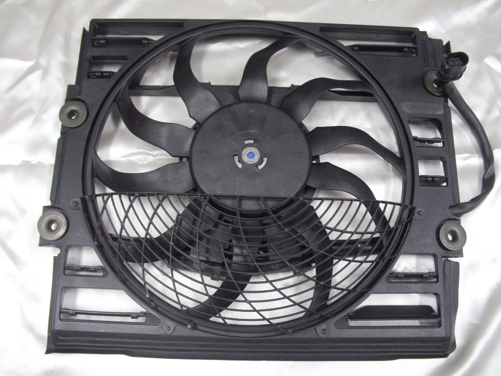 Auxiliary Radiator <font><b>Cooling</b></font> <font><b>Fan</b></font> <font><b>Motor</b></font> Assembly for <font><b>BMW</b></font> E38 1996-1998 OE: 64548380774 image