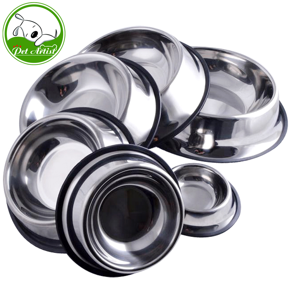 6 Sizes Stainless Steel No-Slip Pet Pupps