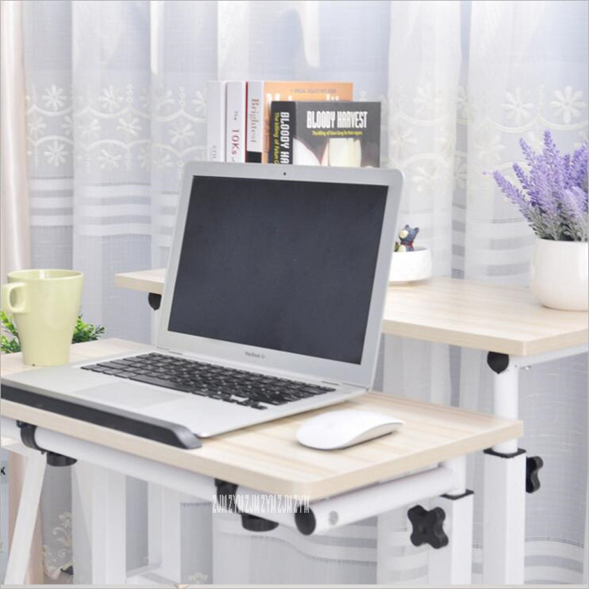 jc multiples usos estilo de pie escritorios de la computadora mvil altura ajustable escritorio del ordenador
