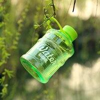 Frosted Water Sports Portable Drinking Bottles Kettle Plastic Creative Sport Flasche Transparent My Bottle Lids water bottles
