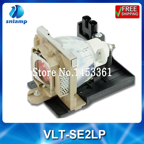 Compatible projector bulb lamp VLT-SE2LP with housing for SE2 SE2U replacement lamp bulb with housing vlt xd206lp for md307x md307s xd206u sd206u sd206