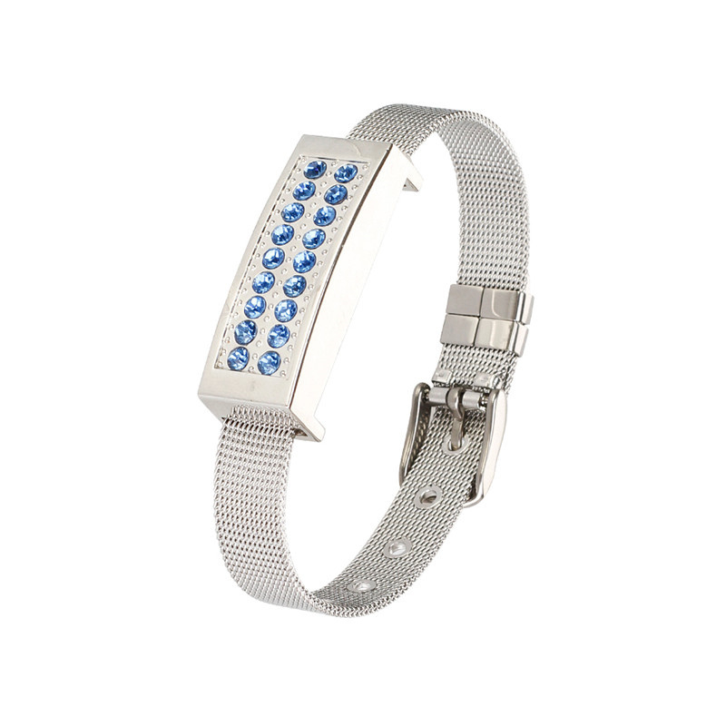 Metal Usb Flash Drive Wristbands Pen Drive 4gb 8gb 16gb 32gb 64gb 128gb Usb 2.0 Pendrive Jewelry Bracelet Flash Memory Drive-in USB Flash Drives from Computer & Office