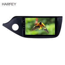 "Harfey Head Unit 9 ""Car Multimedia Player WIFI Bluetooth Android 8.1 GPS Navigatie Voor 2012 2013 2014 Kia Ceed LHD Spiegel Link(China)"