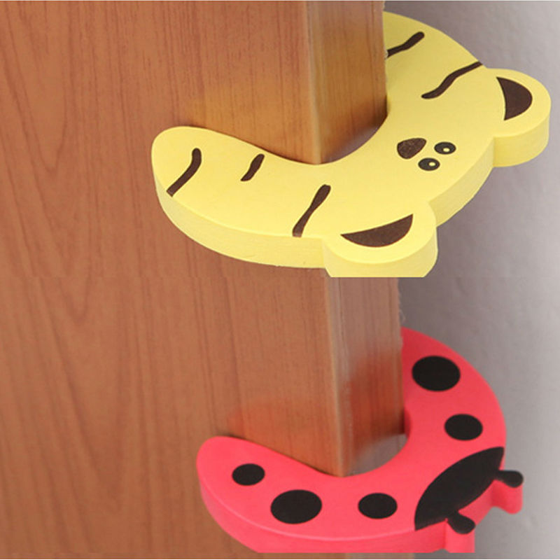 3 PCS/LOT High Quality Baby Care Safety Door Stopper Protecting Product Children Kids Safe Carton Anticollision Corner Guard защитные накладки для дома happy baby фиксатор для двери pull out door stopper