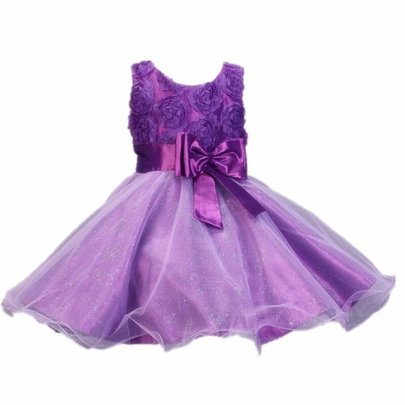 Hermosa Vestido De Las Niñas Partido Del Bebé Foto - Vestido de ...