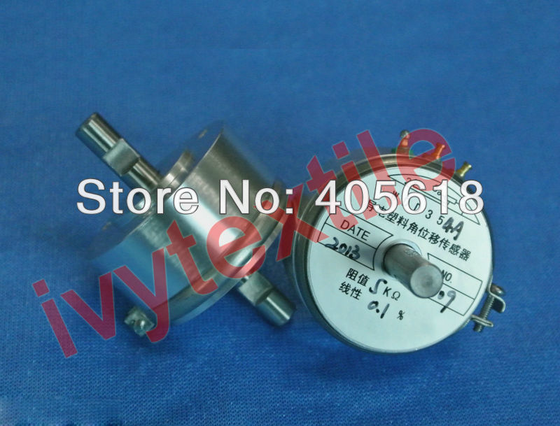 Top quality conductive plastic precision potentiometer WDD35D-4 10K,+/-0.1% [vk] helipot r257c 10k conductive plastic potentiometer 360 degree turn switch