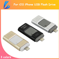 LL TRADER 5Pcs/Lot i-Flash Drive OTG USB Flash Device For iPad iPod iOS Android Devices Mac For iPhone IOS Android Memory Stick
