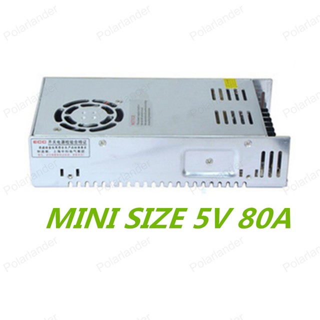 Бесплатный shiiping, AC 110/220 В Dc 80A Импульсный Источник Питания Драйвер для LED Striplight