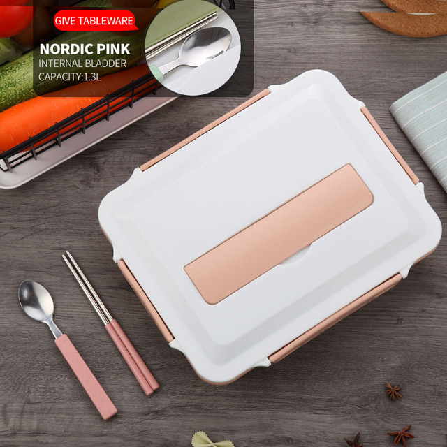 Pink Cheap bento boxes stainless steel 5c6479e2ed735