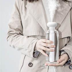 Белый разборный увлажнитель воздуха для офис Портативный USB Арома диффузор автомобиля ультразвуковой парогенератор увлажнители воздуха