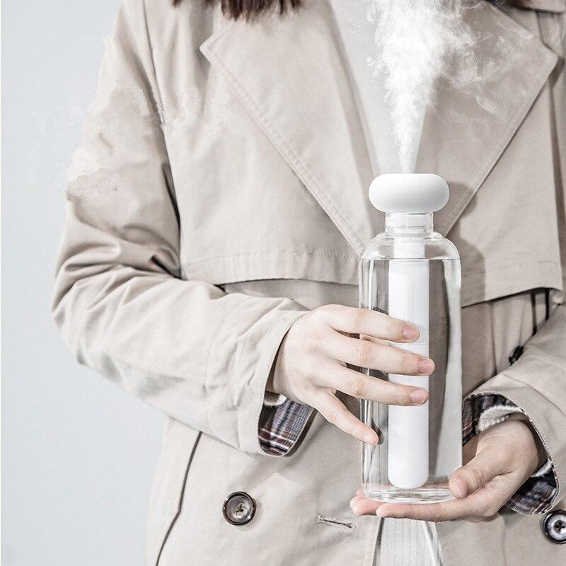 Weiß Zerlegbare Luftbefeuchter für Home Office Tragbare USB Aroma Diffuser Auto Nebel Maker Ultraschall Luftbefeuchter Diffusoren
