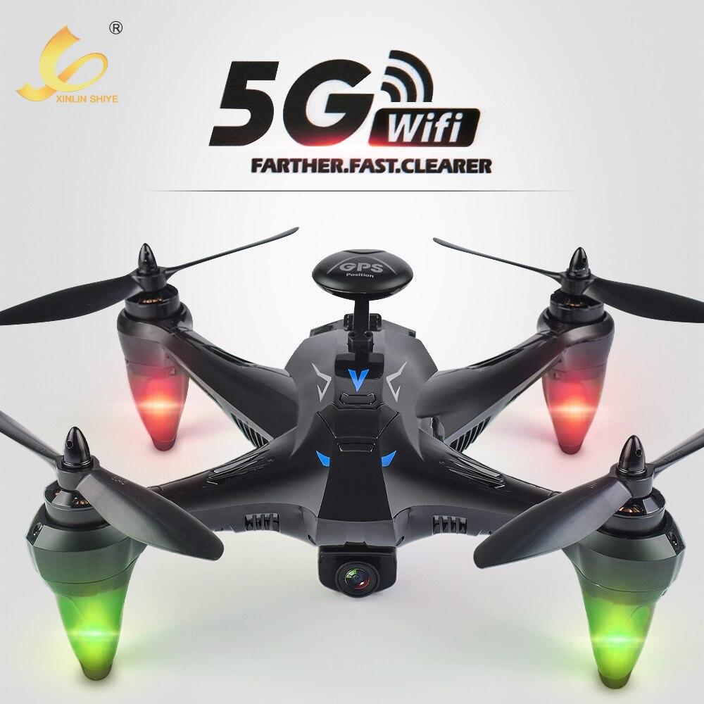 Профессиональный gps бесщеточный Радиоуправляемый Дрон Quadcopter с 5 г WI FI FPV 720 P HD Камера высота Удержание Безголовый RC самолета игрушки Дрон