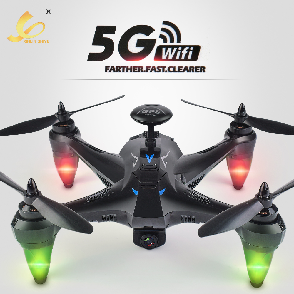 Professional GPS Brushless RC Drone Quadcopter With 5G WIFI FPV 720P HD Camera Altitude Hold Headless RC Aircraft Toys Dron