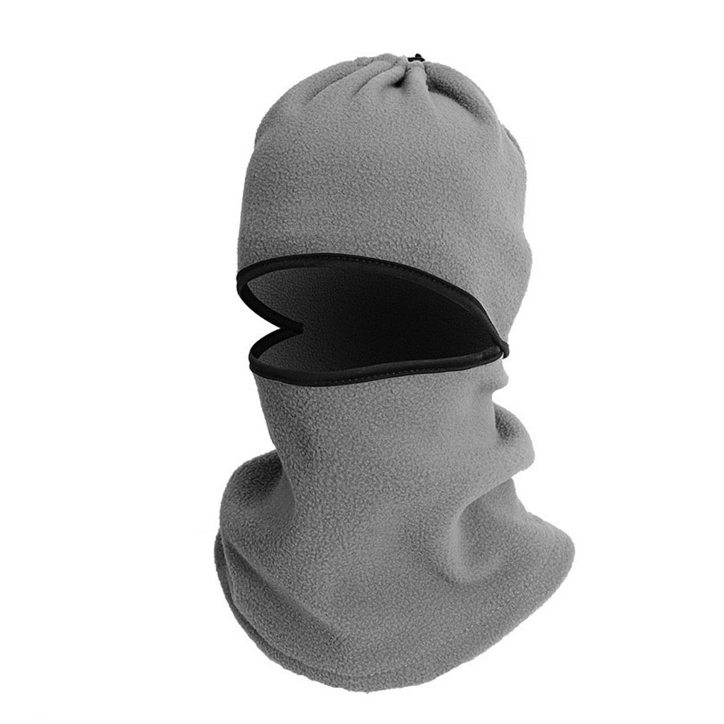 High quality Versatile Men Cap Breathable Windproof Multi Fleece Protective Face Mask CS Face Shield Beanies HQ protective outdoor war game military skull half face shield mask black