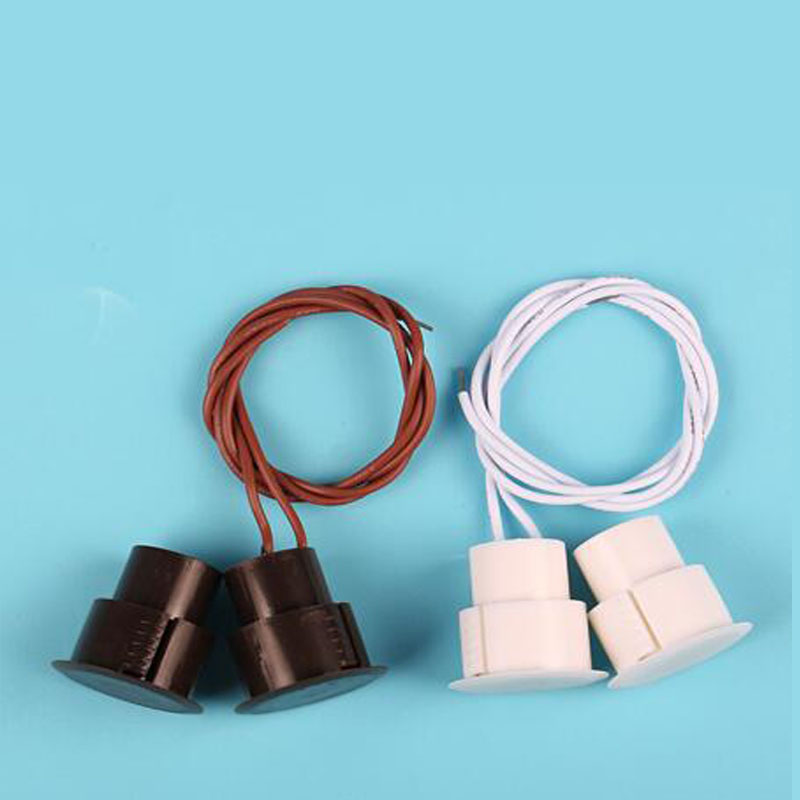 Back To Search Resultssecurity & Protection Wired Magnetic Switch Door Open Alarm Concealed Installation Nc Relay Output Magnet Sensor Brown White Color Xm-36