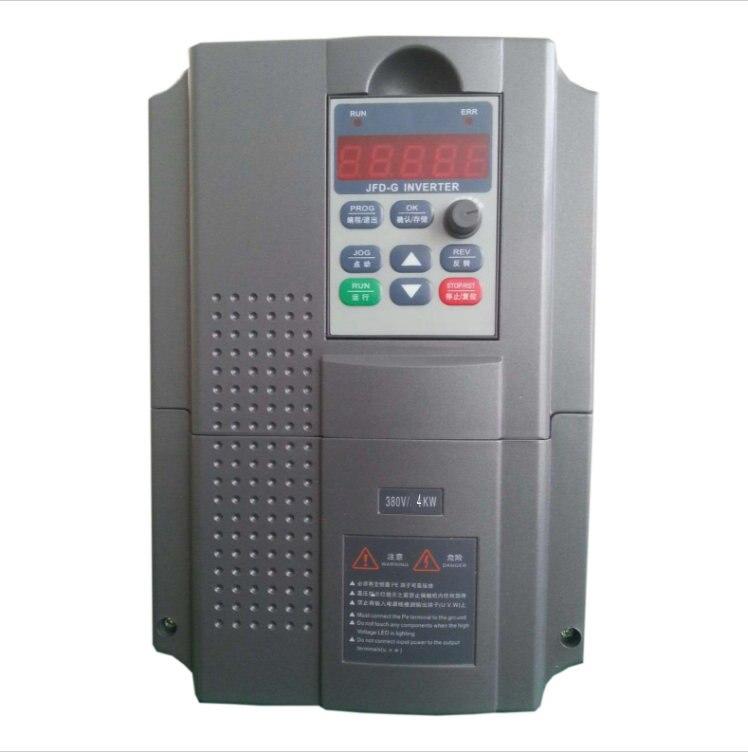 Convertisseur de fréquence monophasé 4kw 220 v ménage Entrée et trois phase 380 v sortie Expédition Libre de DHL