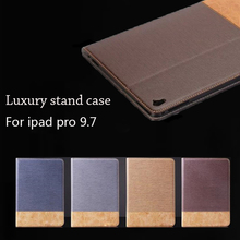 For 2016 Apple iPad Pro 9.7 inch Smart Sleep Case Ultra Slim Designer Tablet PU Leather Cover For iPad Pro 9.7 Case