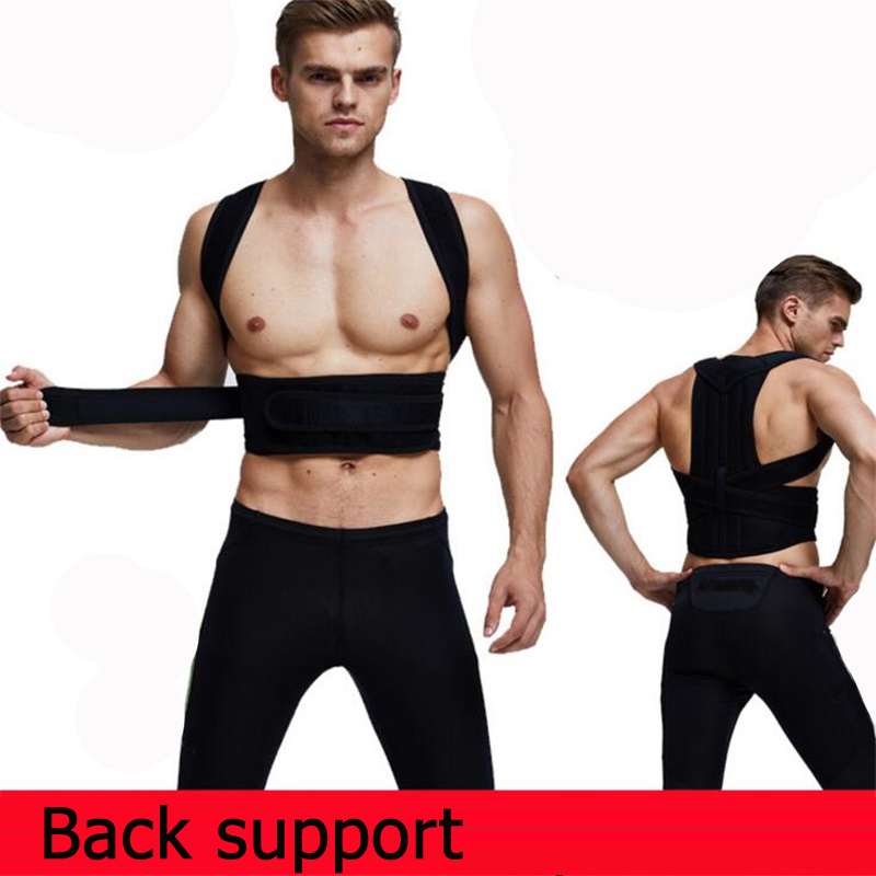 Aofeite Unisex Lumbar Support Straight Corrector for Posture Adjustable Men Women Magnetic Posture Corrector Brace Back Belt unisex adjustable posture corrector corst back men brace shoulder belt lumbar support straight correction for health care