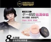 Масло контроль стойкая красота кожа макияж кисточка для корректирующей рассыпной пудры отделка порошок