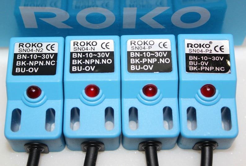 Бесплатная доставка roko строка датчик приближения металлические переключатель датчика capitales sn04-n npn 5 мм