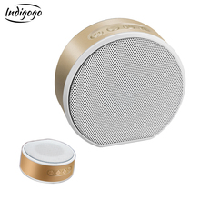 Indigogo A60 mini Bluetooth-Speakers Portable Wireless Support TF card AUX Speaker Hands-free Voice Prompt Acoustics Stereo Bass
