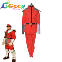 Free Ship Cosplay Costume Street Fighter M.Bison Anime Uniform Halloween Christmas Party