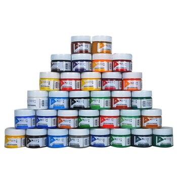 Acrílico 100 ml engarrafada 7/12/18/24/32 cor da pintura da arte, pintura de parede, iniciantes estudante mão-pintado, pintura de graffiti