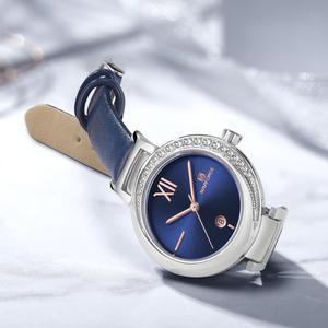 Image 4 - جديد NAVIFORCE نساء موضة ساعة كوارتز أنثى عادية مقاوم للماء ساعة اليد العلامة التجارية الفاخرة السيدات الساعات reloj mujer 2019
