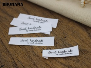 Custom Sewing Labels, Custom Clothing Tags, Name Tags, Handmade labels (MD003)
