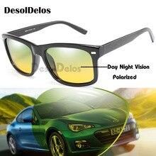 Day Night Men Glasses Drivers Vision Goggles Anti-Glare glasses Women Polarized Driving Sunglasses gafas oculos de sol